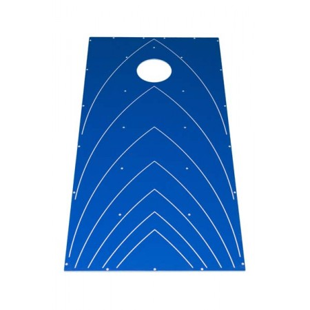 Corn Hole - Blue Carnival Game