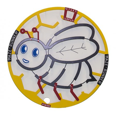Bee Maze Carnival Game Extra Wheel