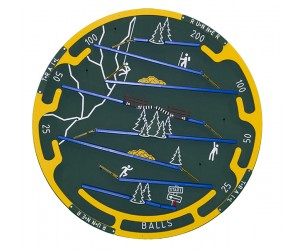 Trail Runner Carnival Game Extra Wheel