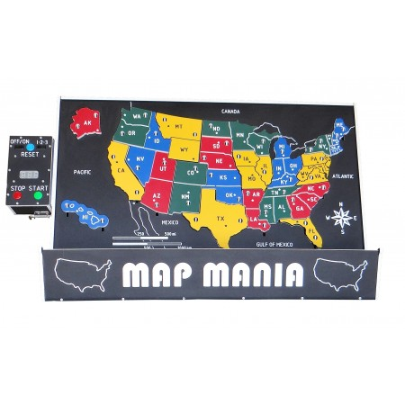 Map Mania Electronic - United States