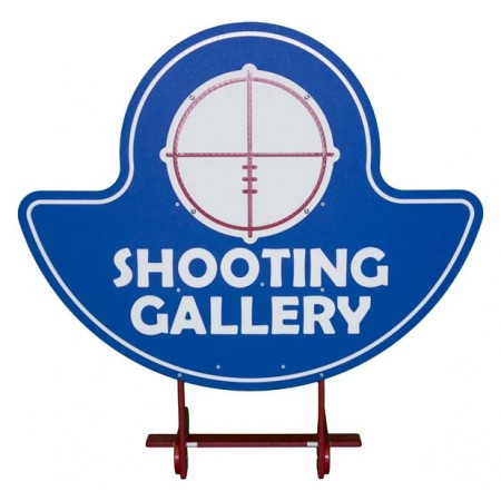 Shooting Gallery 3 Shield Carnival Game Accessory