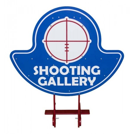 Shooting Gallery 5 Shield Carnival Game Accessory