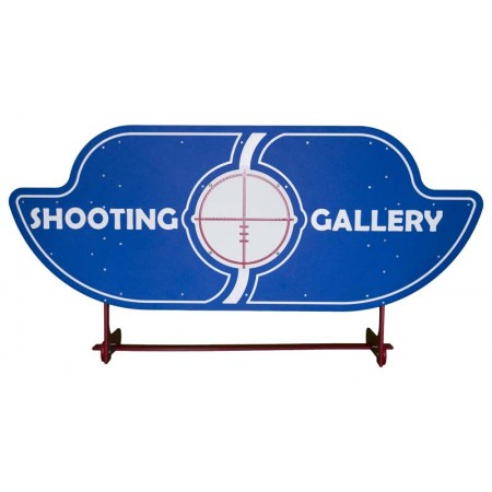 Shooting Gallery 6 Shield Carnival Game Accessory