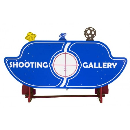 Shooting Gallery 6 Carnival Game
