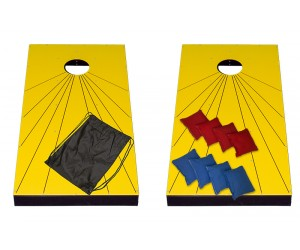 Corn Hole - Yellow Carnival Game
